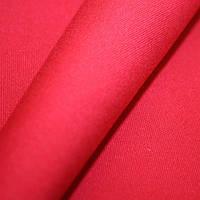 Ткань однотонная ярко красный