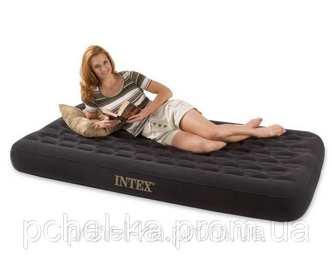 Односпальный надувной матрас Intex 66723