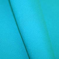 Ткань однотонная бирюза
