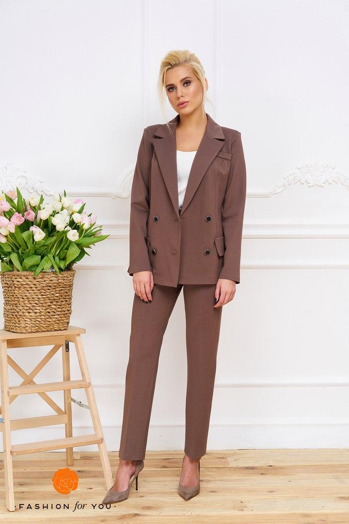 Костюм женский (двойка, пиджак с брюкам)