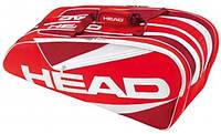 Теннисная сумка HEAD Elite 9R Supercombi RDRD