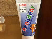 Зубная паста Nenedent для детей от 2 лет, 50 мл