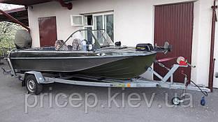 Причіп для казанки. Для всіх типів човнів до 4,6 м.