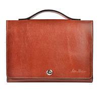 Мужская сумка-клатч коричневая