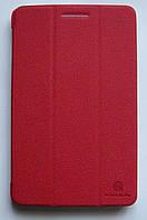 Оригинальный  красный чехол-книжка Nillkin для планшета Lenovo S5000