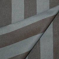 Ткань полосатая темно-серый/коричневый
