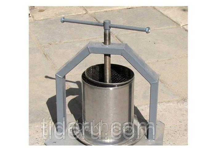 Пресс винтовой для сока в объеме 15 литров Винница