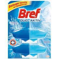 Туалетный блок Bref Duo-Aktiv Океан 2 запаски х 50 мл (9000101006476)