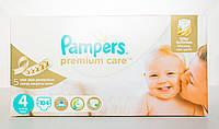 Підгузки Pampers Premium Care Розмір 4 (Maxi) 8-14 кг, 104 шт