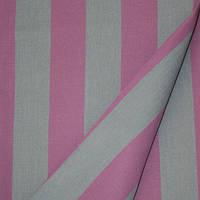 Ткань полоса светло-серый/малиновый