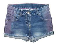 Шорты джинсовые для девочек, размеры 122,134,140,146, Lupilu, арт. 879800
