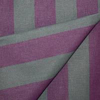 Ткань полоса тёмный тёмно-серый/фиолетывый