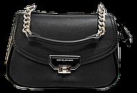 Классическая женская сумочка DAVID DJONES черного цвета TRT-088802
