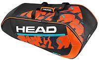 Теннисная чехол HEAD Radical Supercombi BKOR