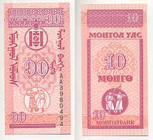 Монголія / Mongolia 10 Mongo 1993 Pick 49 UNC