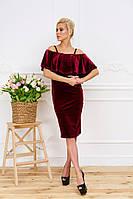 Платье женское из бархата , фото 1