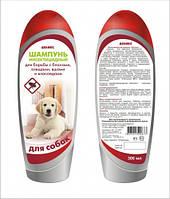 Инсектоакарицидный шампунь «Деликс-Шарм» для собак