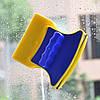 Магнитная двусторонняя щетка для мытья стекол Double Sided Glass Cleaner!Опт, фото 2