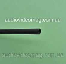 Термоусадочная трубка с клеевым слоем (3:1) - 3.2/1.0 мм, 1 метр, черная
