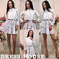 """Женское платье с поясом """"Катя"""", фото 1"""