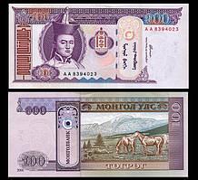 Монголія / Mongolia 100 Togrik 2000 Pick 65a UNC