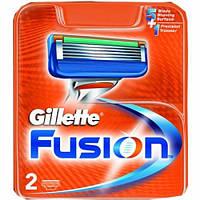 Сменные кассеты для бритья Gillette Fusion 2шт