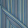 Ткань полоса син/гол/беж