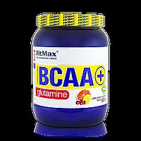 Аминокислоты Бца с глютамином BCAA + Glutamine 600g FitMax