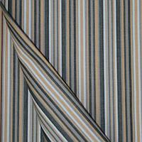 Ткань полоса черн/беж/серый