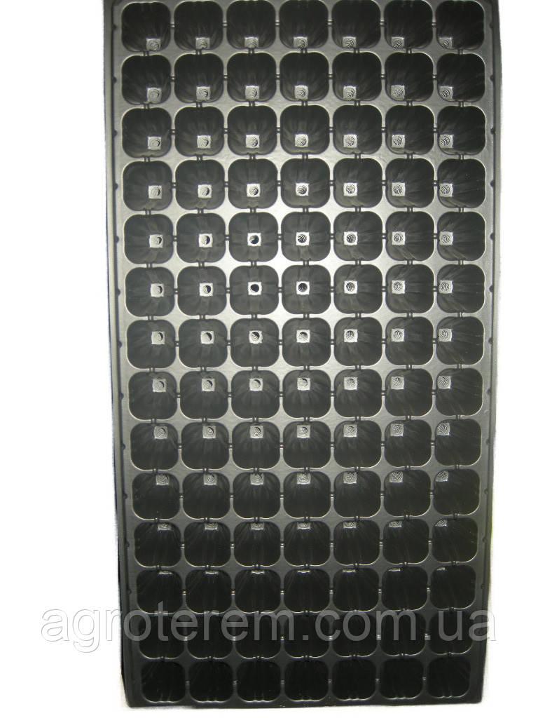 Кассета для рассады  98 ячеек,размер кассеты 54х28 см,толщина стенки  0,70мм
