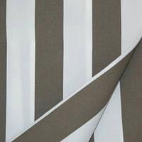 Ткань полоса молочный/кофе