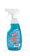 """Средство для мытья окон и стеклянных поверхностей """"BLITZ crystal"""" тригер, 500мл, 20шт\ящ"""