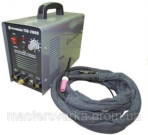 Сварочный инверторный аргонодуговой аппарат WMaster TIG-200 C