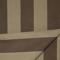 Ткань полоса табак/коричневый
