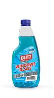 """Средство для мытья окон и стеклянных поверхностей """"BLITZ crystal"""" запаска, 500мл, 20шт\ящ"""