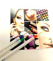 H&Q Набор кистей для дизайна ногтей (HBS-01) 3 шт