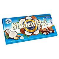 Шоколад ORION Studentska Pecet молочный с кокосом 180г.