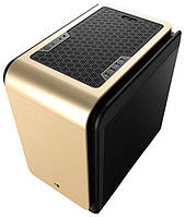 "Корпус AeroCool Dead Silence Cube Golden Edition ""Over-Stock"""