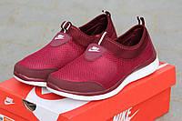Мужские кроссовки Nike freeran 5.0, сетка, бордовые / кроссовки мужские Найк Фри Ран 5.0, стильные