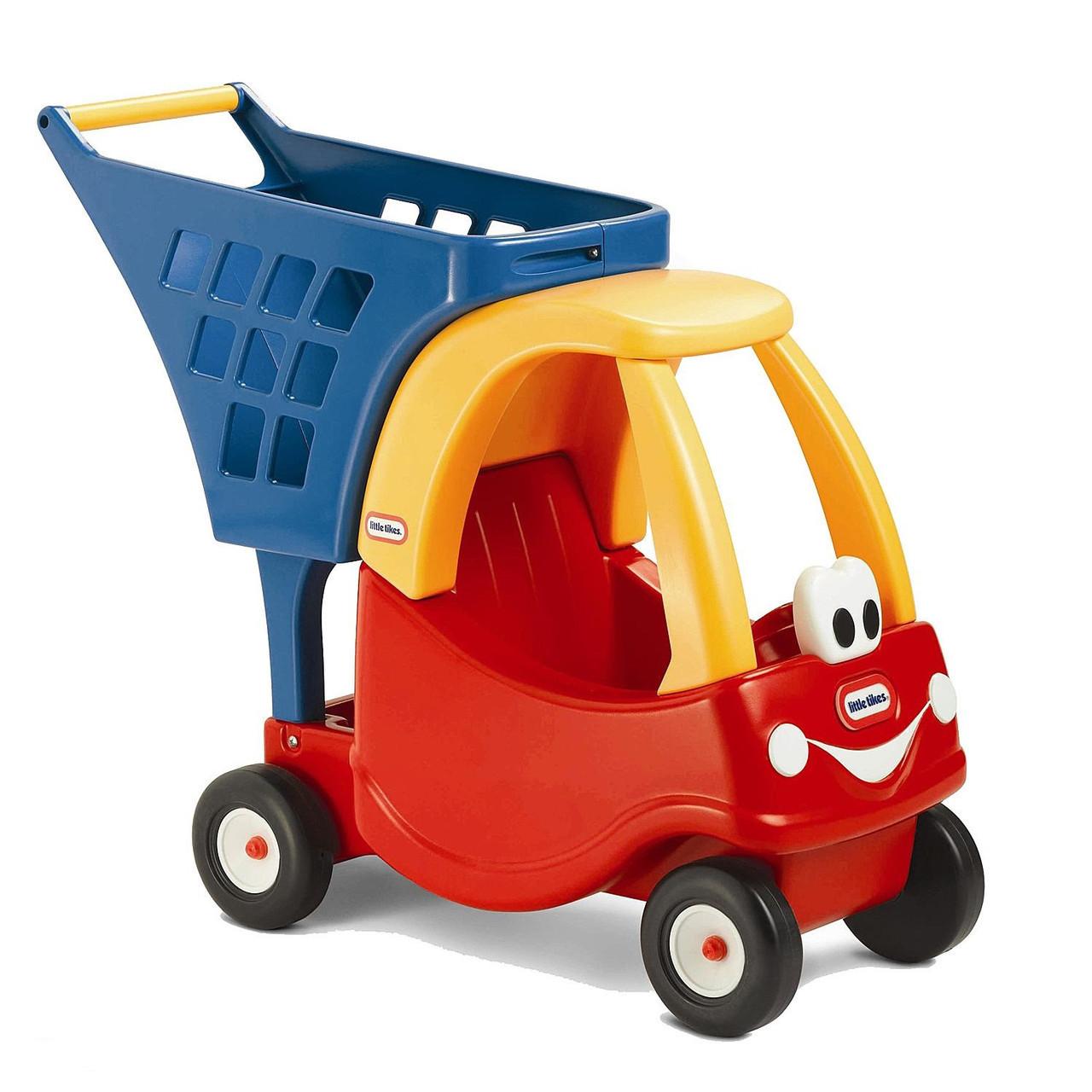 Каталка тележка Little Tikes детская для покупок машинка