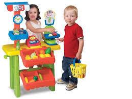 Супермаркет  Keenway детский магазин касса весы корзинка 31622
