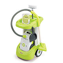 Игровой набор Тележка для уборки с пылесосом детским Rowenta Smoby 24406