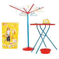 Игровой набор гладильная доска с утюгом и сушкой Simba 4763172
