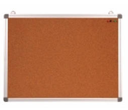 Дошка коркова Optima, розмір 30х45 см, алюмінієва рамка