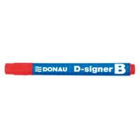 Маркер для дошок D-SIGNER B, червоний (7372001-04)