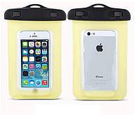 Водонепроницаемый чехол для смартфонов до 5 '' жёлтый