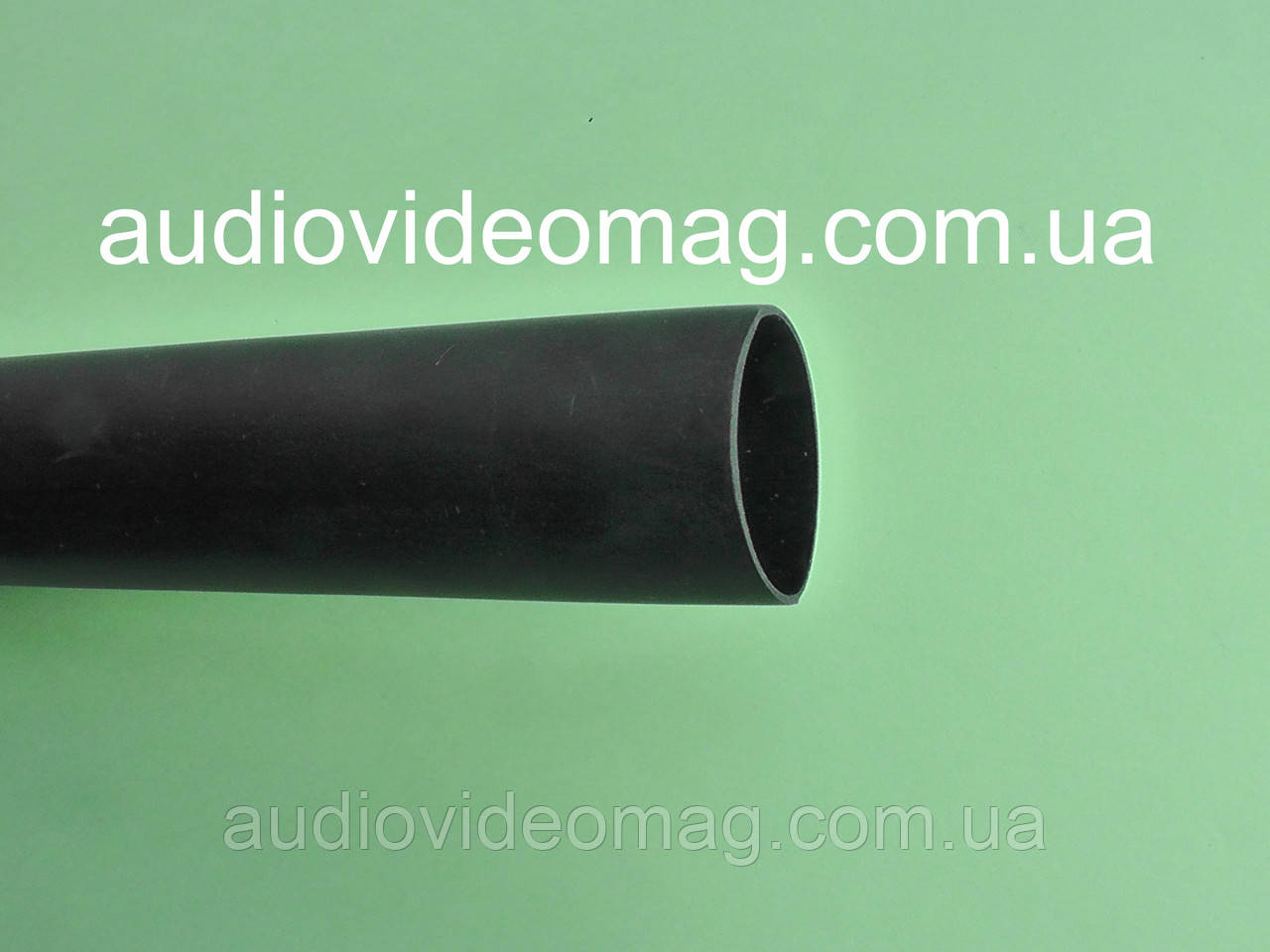 Термоусадочная трубка с клеевым слоем (3:1) - 15.0/5.2 мм, 1 метр, черная