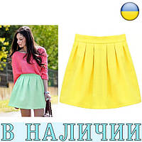 Стильная и лаконичная молодежная юбка солнце-клеш Rumex