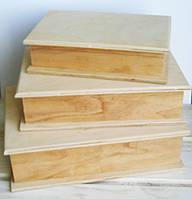 Шкатулка-книга, фанера 21*15*5   см.