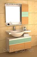 GSP9102 мебель для ванной комплект CRW